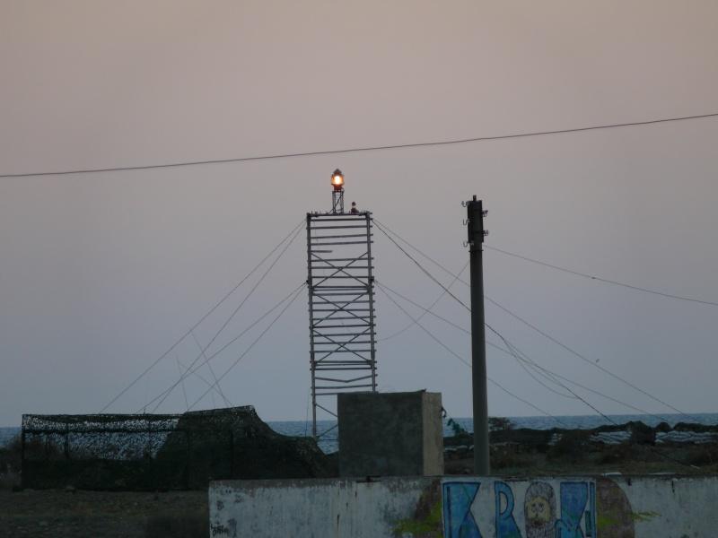 свет маяка Малый Утриш